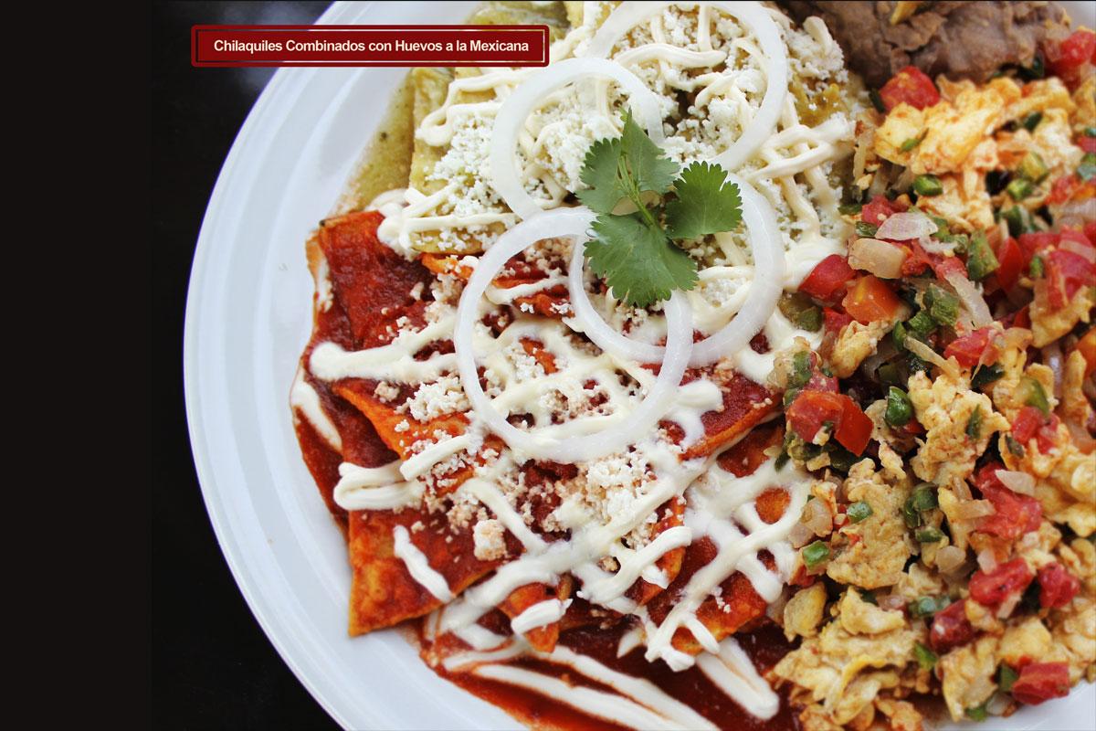 Chilaquiles Rojos Recipe — Dishmaps